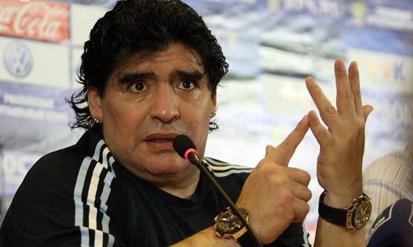 """Maradona o problemach Argentyny. """"To mnie smuci"""""""