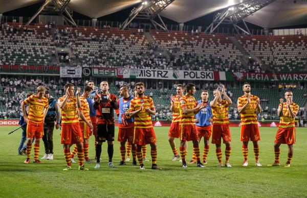 Jagiellonia rozbiła Ruch Chorzów na własnym stadionie