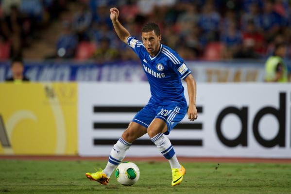Hazard: Chcę być najlepszym piłkarzem Premier League