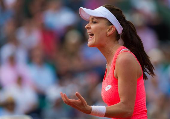 Radwańska żegna się z Rio już po jednym meczu! Wściekłość wyładowała na rakiecie [VIDEO]