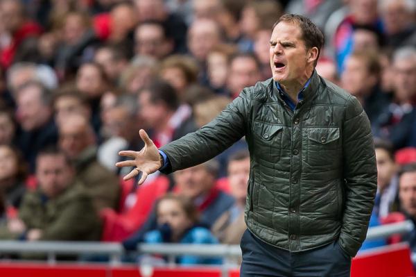 Frank de Boer nowym trenerem Interu Mediolan