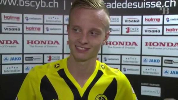 Młodzieżowy reprezentant Szwajcarii w Ingolstadt
