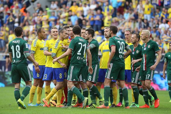 Arka pokonała Śląsk na własnym stadionie