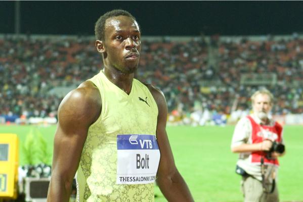 Nie ma mocnych na Bolta! Rywal prowadził, ale Jamajczyk świetnie finiszował [VIDEO]