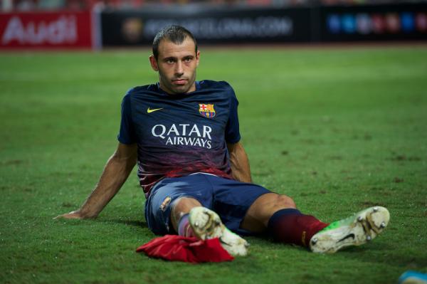 Mascherano: Myślałem o odejściu z Barcelony