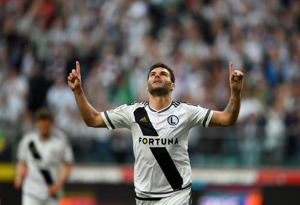 Jest gol! Legia gra o Ligę Mistrzów, a strzela... Jak zwykle Nikolić!