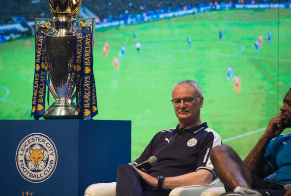 Ranieri zadowolony z nowego kontraktu Mahreza