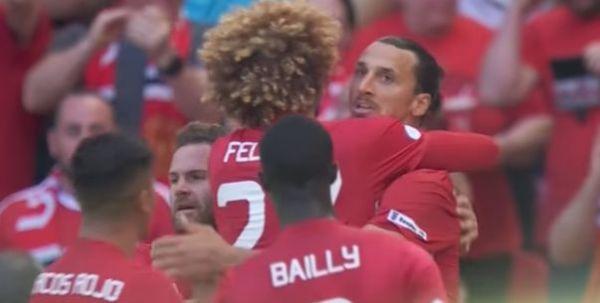 Zlatan jeńców nie bierze: Dwa gole Szweda dały zwycięstwo MU [VIDEO]