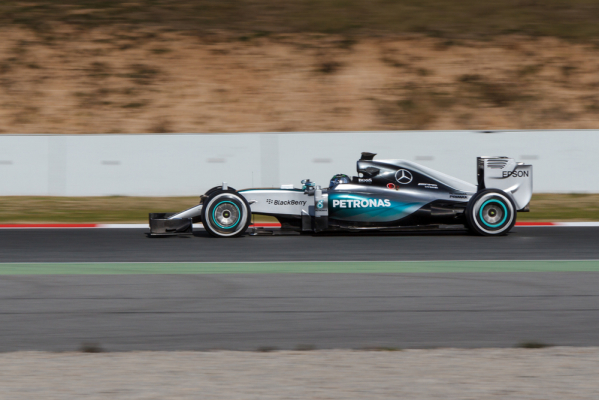 Szalone GP Belgii - kraksa i zwycięstwo Nico Rosberga