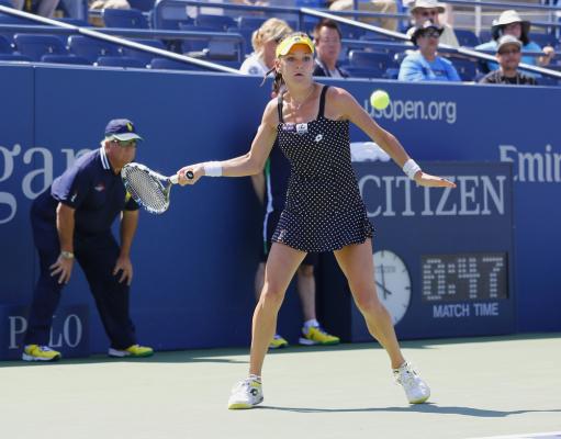 Radwańska rozbiła rywalkę w I rundzie US Open