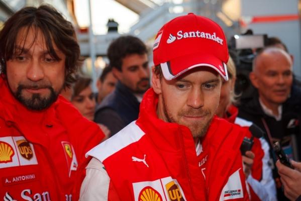 F1: Vettel przeprosił Raikkonena