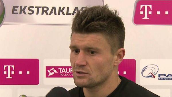 Gole Ćwielonga pogrążyły Śląsk w meczu z Ruchem