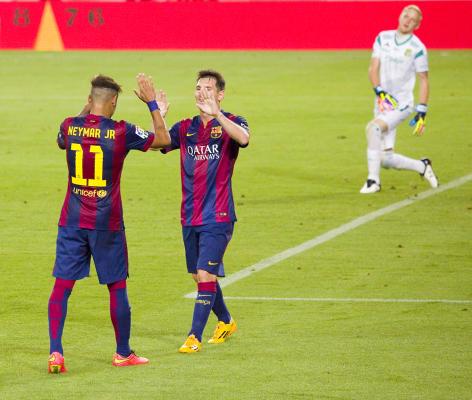 7 goli na Camp Nou! Barcelona rozbiła Celtic