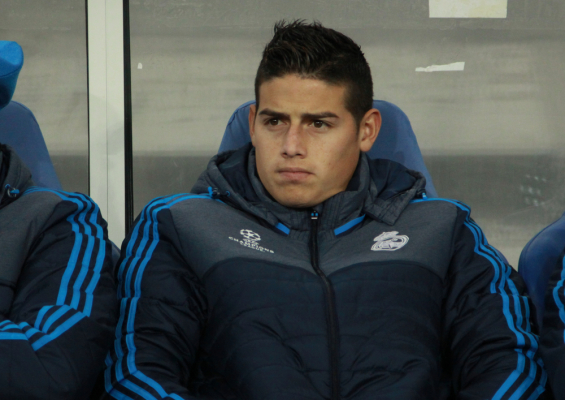 Media: Mourinho ciągle chce Jamesa Rodrigueza