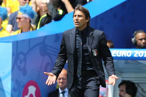 Hazard zachwycony Conte: Ma w sobie wielką pasję