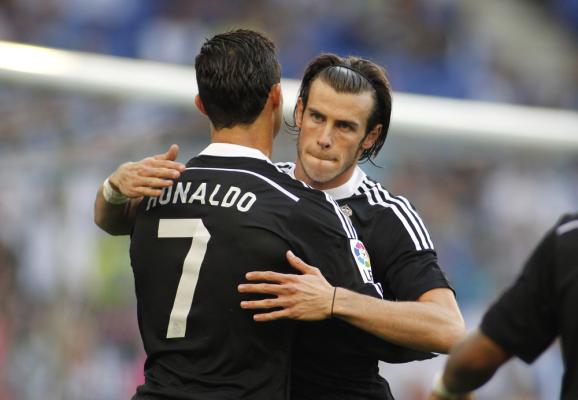 Cristiano Ronaldo i Gareth Bale gotowi do gry