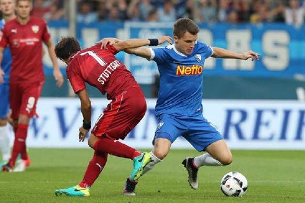 Cały mecz Dawidowicza, remis Bochum ze Stuttgartem