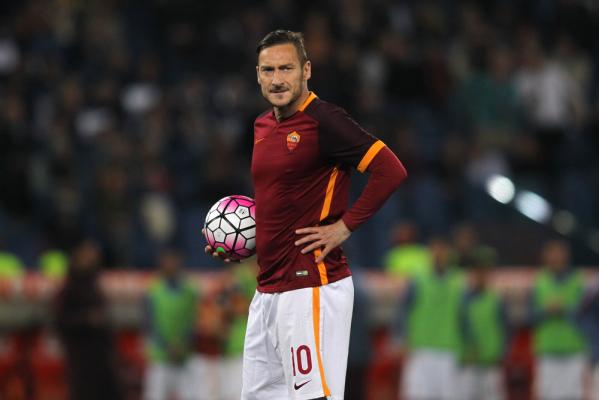 250. gol Tottiego w Serie A. Roma przegrała z Torino [VIDEO]