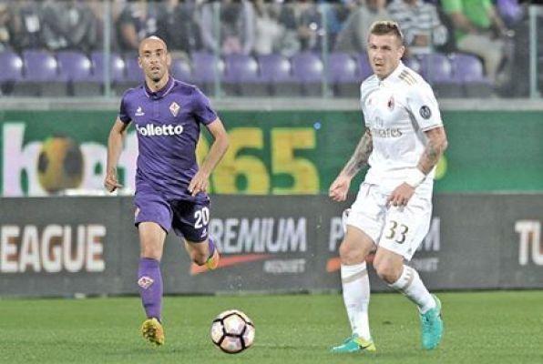 Serie A: Remis Fiorentiny z Milanem