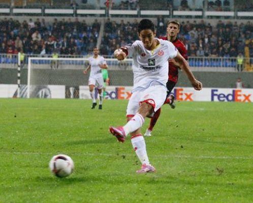 LE: Zwycięstwo FSV Mainz w Baku