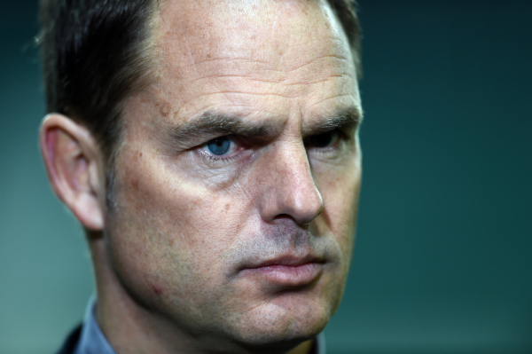 Frank de Boer: Nie byliśmy skoncentrowani