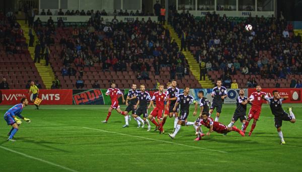 Kadra Armenii na mecze z Rumunią i Polską
