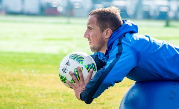 Dariusz Dudka rozpoczął treningi indywidualne