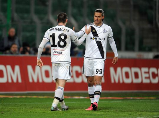 Kucharczyk, Prijović i Bereszyński trenowali z pełnymi obciążeniami, Kopczyński wrócił do treningów