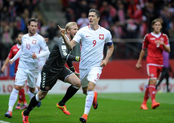 Trener Duńczyków: Różnica między Polską a Danią? Robert Lewandowski!