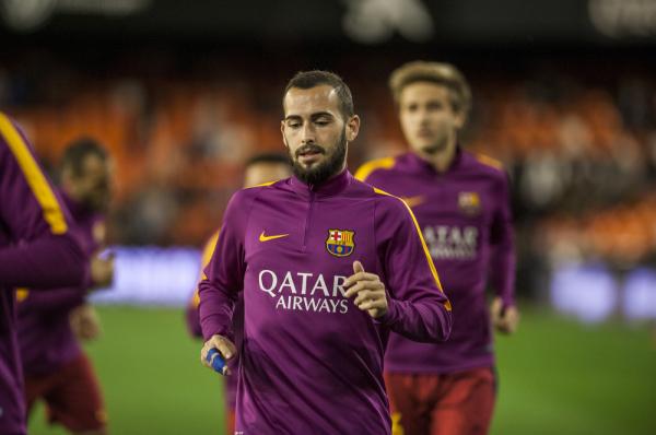 Aleix Vidal zagra w spotkaniu z Deportivo