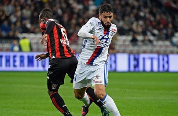 Nice ograło Lyon, Rybus grał cały mecz