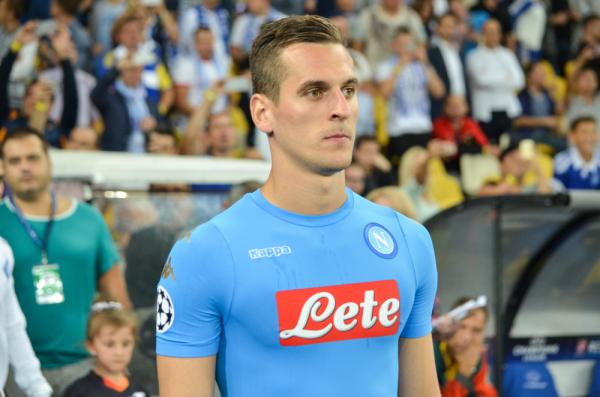 SSC Napoli wygrało z Hellas Verona. Milik już strzela! [VIDEO]