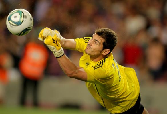 Casillas pobije wyczyn Zubizarrety