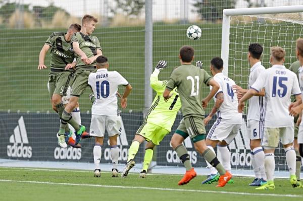 Liga Młodzieżowa UEFA: Legia była blisko remisu z Realem!
