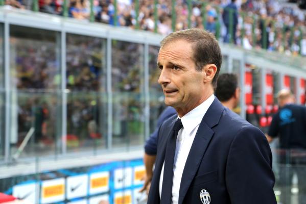 Trener Juve zły na piłkarzy Milanu: Ich protesty sprawiły, że sędzia zwątpił we własną decyzję