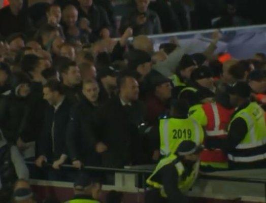 Zamieszki na meczu Chelsea z West Ham [VIDEO]