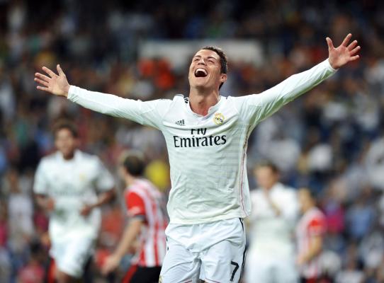 Real rozbił beniaminka, trzy gole Ronaldo