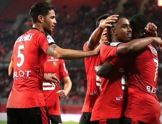 Grosicki zmieniony, Rennes zwycięskie