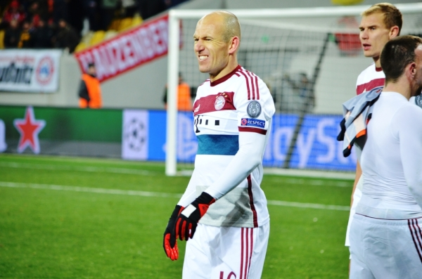 Robben: Byłem zły na Ancelottiego