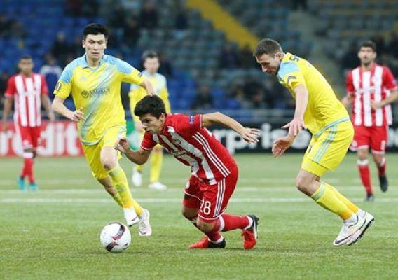 LE: Olympiakos zremisował w Astanie