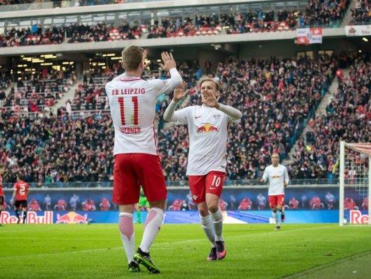 Zwycięstwa drużyn z Lipska i Salzburga