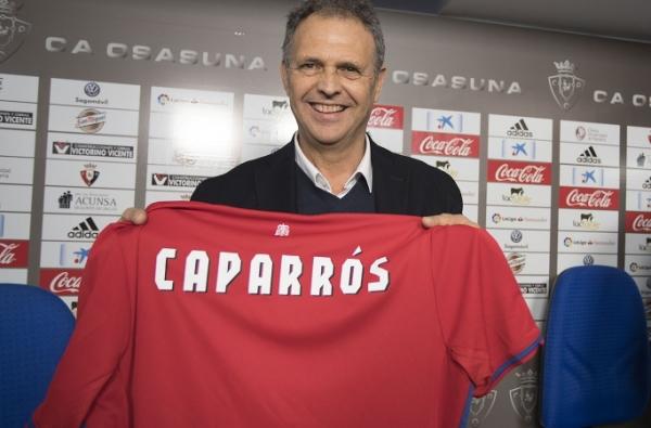 Joaquin Caparros nowym trenerem Osasuny