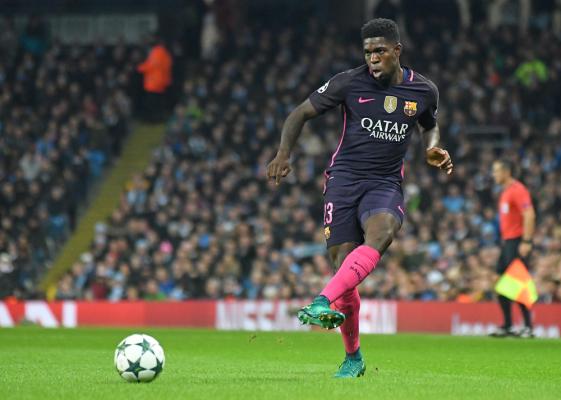Kolejny problem Barcelony. Umtiti nie zagra przez trzy tygodnie