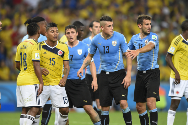 Walka o mundial: remis Kolumbii z Chile, Urugwaj goni lidera