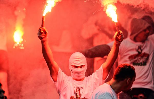 Zamieszki z udziałem polskich kibiców przed meczem z Rumunią [AKTUALIZACJA]