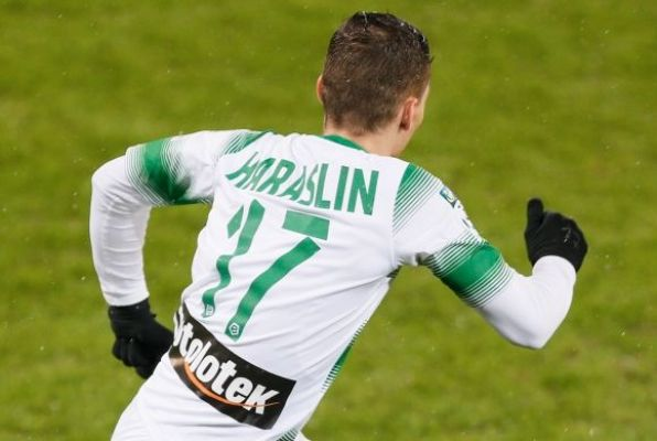 Haraslin wystąpił w młodzieżowej reprezentacji Słowacji