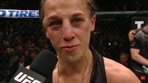 Polska noc w UFC, Jędrzejczyk wygrała na punkty z Kowalkiewicz [VIDEO]
