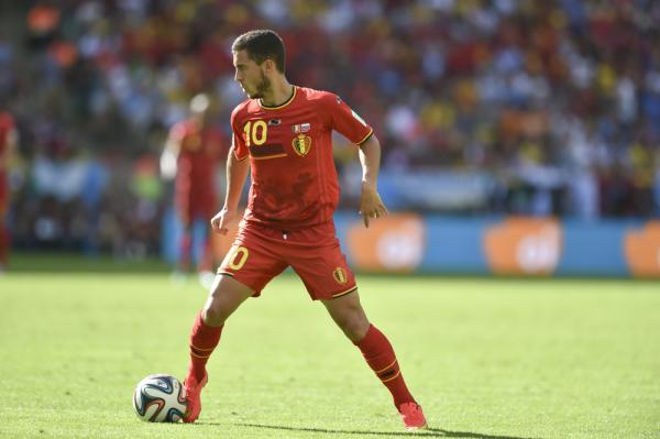 Trener Belgii: Uraz Hazarda nie jest poważny