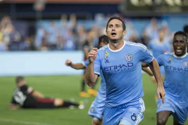 Lampard rozstał się z New York City FC