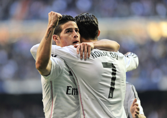 """""""Przyjaźń z Ronaldo niszczy Jamesa. Wykonuje te same brzydkie gesty"""""""